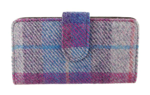 Harris Tweed Ladies Iona Long Purse - Col 47